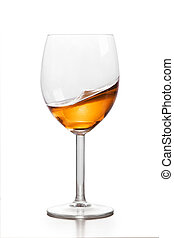 ガラス, アルコール