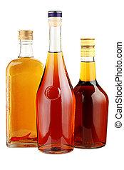 ガラス, アルコール, bottles.