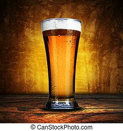 ガラス, ビール