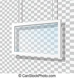 ガラス, フレーム, ベクトル, イラスト