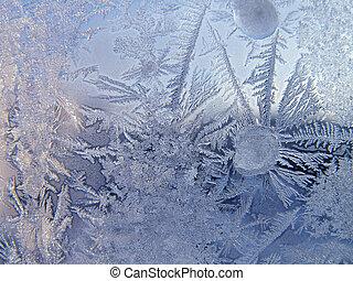ガラス, 冬