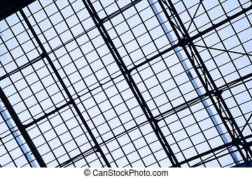 ガラス, 屋根