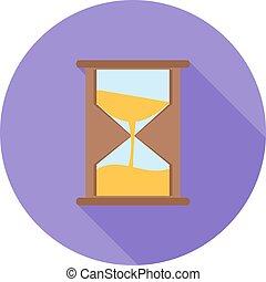 ガラス, 時間