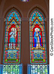 ガラス, 汚された, 教会