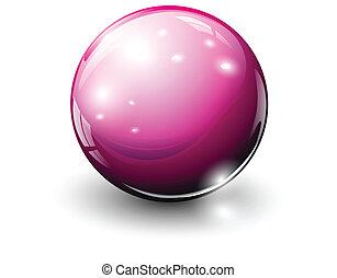 ガラス, 球