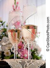 ガラス, 結婚式