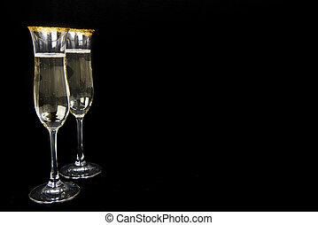 ガラス, 2, シャンペン