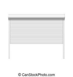 ガレージの ドア
