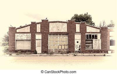 ガレージ, ワークショップ, 捨てられた, ∥あるいは∥