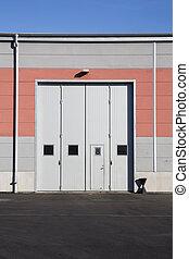 ガレージ, 産業 ドア