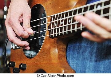 ガレージ, 訓練, 音楽, 持ちなさい, バンド