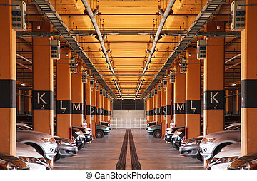ガレージ, 駐車