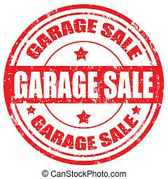 ガレージ, sale-stamp