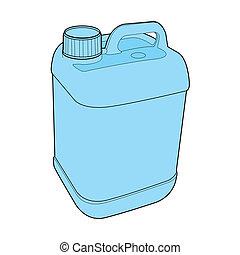 ガロン, ベクトル, プラスチック