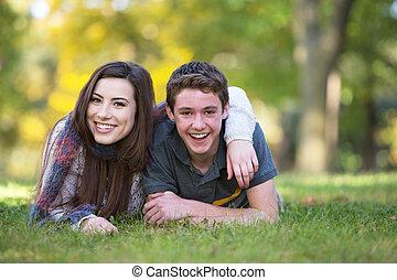 ガールフレンド, 微笑, ボーイフレンド