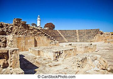 キプロス, 古代, amphitheatre, paphos