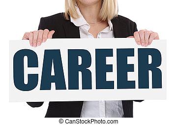 キャリア, 機会, ゴール, 成功, そして, 開発, ビジネス 概念