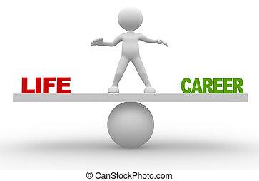 キャリア, 生活, ∥あるいは∥
