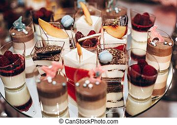 キャンデー, レセプション。, bridal, デザート, バー, 赤ん坊, 排他的, catering., ...