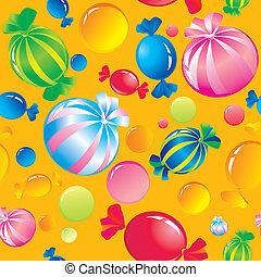 キャンデー, 甘いもの, 砂糖