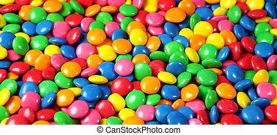 キャンデー, 背景, チョコレート