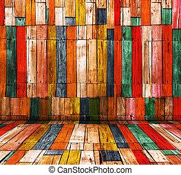 キャンデー, 色, 古い, 木, 部屋, 背景