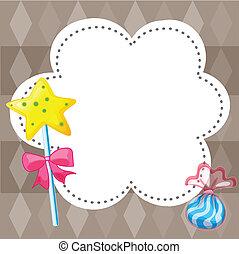 キャンデー, 雲, テンプレート, 空