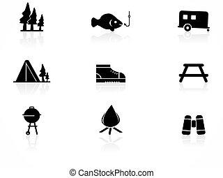 キャンプ, アイコン