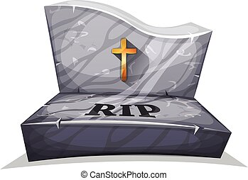 キリスト教徒, 墓碑, 大理石, 破れなさい