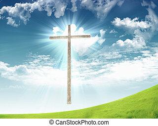 キリスト教徒, 空, 交差点, に対して