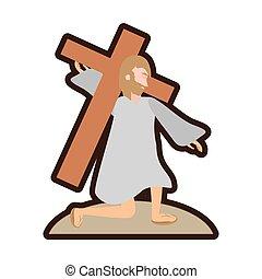 キリスト, イエス・キリスト, 予定表, 落ちる, 最初に