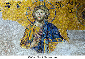 キリスト, モザイク, イエス・キリスト