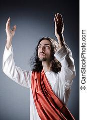キリスト, 擬人化, イエス・キリスト