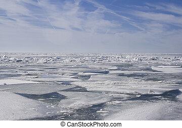 キルト, 氷