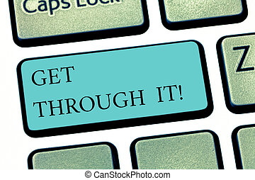 キーパッド, 写真, 印, アイロンかけ, によって, キーボード, メッセージ, 作成しなさい, intention, テキスト, 概念, 勝ちなさい, it., 得なさい, 提示, 勇気, キー, empowerment, 挑戦, 障害, idea., コンピュータ