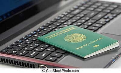 キーボード, ウズベキスタン, パスポート