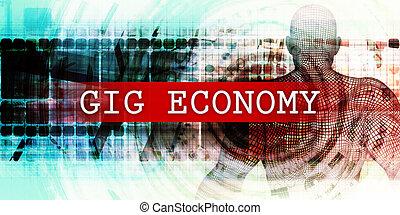 ギグ, セクター, 経済