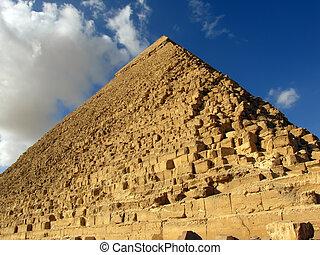 ギザ, エジプト, ピラミッド, 偉人
