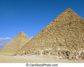 ギザ, エジプト, ピラミッド, 2