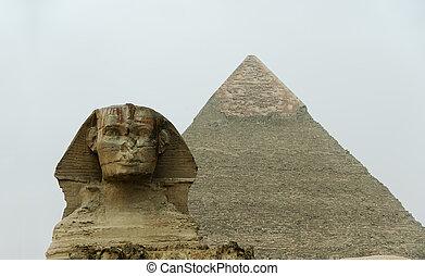 ギザ, エジプト, 大きい スフィンクス