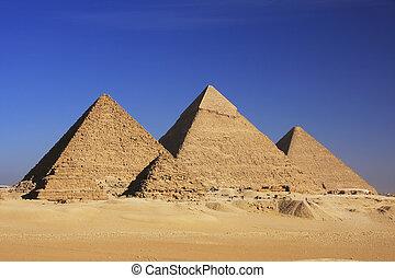 ギザ, カイロ, ピラミッド