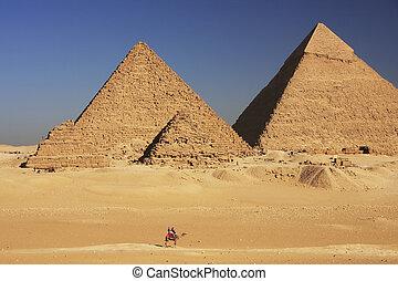 ギザ, カイロ, 偉人, ピラミッド