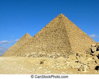 ギザ, ピラミッド, 2, (egypt)