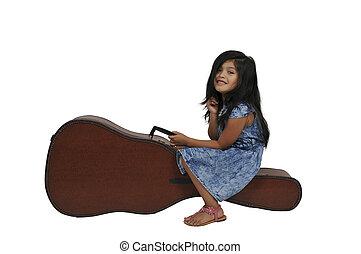 ギターの症例, 女の子