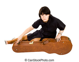 ギターの症例, 女性の モデル