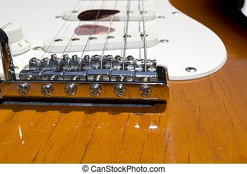 ギター橋, 電気である