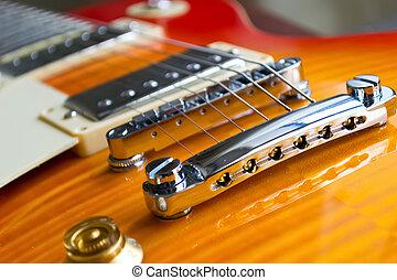 ギター橋, 電気である, 終わり