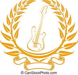ギター, シンボル, エレクトロ