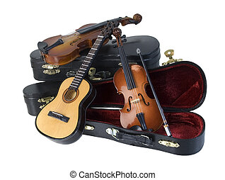 ギター, バイオリン, 場合