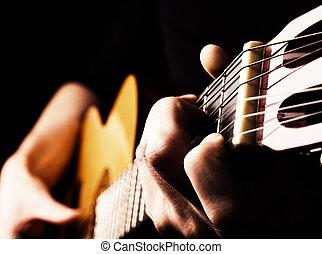 ギター, フラメンコ, 遊び